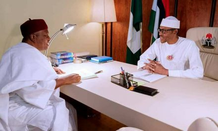 Gov. Ishaku Meets with President Buhari and Service Chiefs – Mshelia