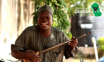 A song for Welcome to Gombe